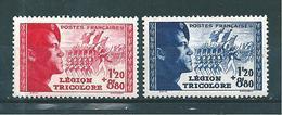 France Timbres De 1942  N°565 Et 566 Pour La Légion  Neuf ** Cote 25€ - France