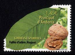 ANDORRA Spanish/Spanische 2018, Fulles D'arbre Noguer** - Neufs