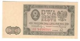 Poland 2 Zlotych 1948 UNC - Polonia