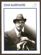 PORTRAIT DE STAR 1935 ETATS UNIS USA - ACTEUR JOHN BARRYMORE - ACTOR CINEMA - Fotos