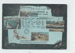 Port-la-Nouvelle (11) : 5 Vues Du Bourg Dans Petit Bleu Télégramme En 1964 (animé)  GF. - Port La Nouvelle