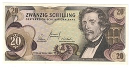 Austria 20 Shillings 1967 AUNC - Austria