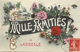 -dpts Div -ref-AJ741- Loire - Lagresle - Mille Amitiés - Souvenir De  .. - Carte Bon Etat - - France