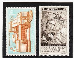 Post206 TSCHECHOSLOWAKEI CSSR 1958 MICHL 1091/92 ** Postfrisch SIEHE ABBILDUNG - Tschechoslowakei/CSSR