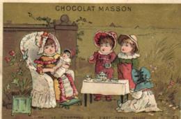 C 6195 - Publicité    Chocolat Masson - Cioccolato