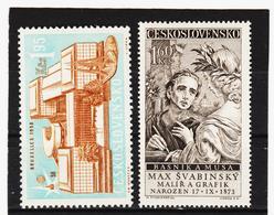 Post207 TSCHECHOSLOWAKEI CSSR 1958 MICHL 1091/92 ** Postfrisch SIEHE ABBILDUNG - Tschechoslowakei/CSSR