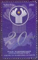 Used Armenia 2011,  20 Years CIS 1V. - Armenia