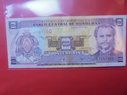 HONDURAS 2 LEMPIRAS 2001 CIRCULER - Honduras
