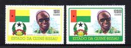 APR1018 - GUINEA BISSAU 1975 , Serie Yvert N. 9/10  ***  MNH (2380A) Cabral - Guinea-Bissau