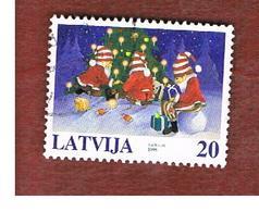 LETTONIA (LATVIA)   -  SG 516  -  1998  CHRISTMAS   -   USED - Lettonia