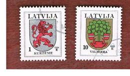 LETTONIA (LATVIA)   -     -  1999  ARMS   -   USED - Lettonia
