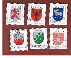 LETTONIA (LATVIA)   -     -  2002  ARMS   -   USED - Lettonia