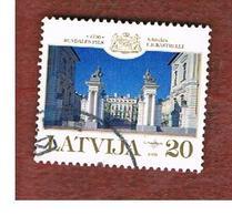 LETTONIA (LATVIA)   -  SG 529   -  1999 RUNDALE PALACE  -   USED - Lettonia