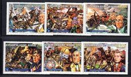 APR1019 - GUINEA BISSAU 1976 , Serie Yvert N. 11/14 + Aerea 1/2  ***  MNH (2380A) 200mo Stati Uniti - Guinea-Bissau