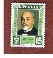 LETTONIA (LATVIA)   -  SG 531  -  1999  PRESIDENT G. ZEMGALS  -   USED - Lettonia