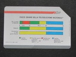 ITALIA 1116 C&C 19 GOLDEN - FASCE ORARIE 30.06.90 POLAROID TEC.SYSTEM 5000 - USATA USED LEGGI - Italia