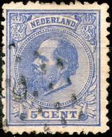 Netherland,1872,Willem III,5 C.,No.19,as Scan - Gebruikt