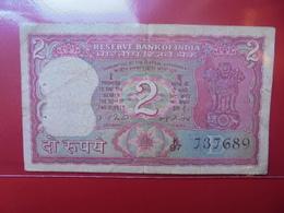 INDE 2 RUPEES CIRCULER - India