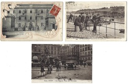 FRANCE - Lot De 49 CPA - 100% ANIMÉES - Toutes Régions - Cartes Postales