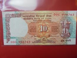 INDE 10 RUPEES CIRCULER - Inde