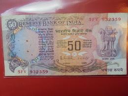INDE 50 RUPEES CIRCULER - India