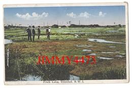 CPA Datée De 1935 - Pitch Lake TRINIDAD . B. W. I. - Edit. Marshall & Co Trinidad - Trinidad
