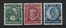 Franz. Zone, Württemberg, Goethesatz, Sauber - Französische Zone