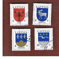LETTONIA (LATVIA)   - MI 421DVII.521II  -      2005  ARMS    -   USED - Lettonia