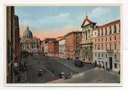 - CPM ROMA (Italie) - Via Della Conciliazione E S. Pietro - - San Pietro