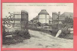 LE BOULLAY D ACHERES COMMUNE DE CLEVILLIERS ENTREE DE LA FERME DU CHATEAU CARTE EN BON ETAT - France