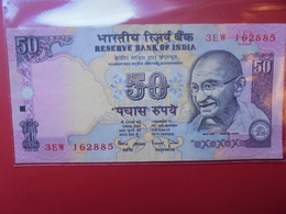 "INDE 50 RUPEES ""GANDHI"" CIRCULER - Inde"