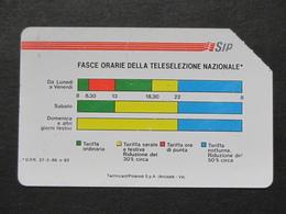 ITALIA 1138A C&C - FASCE ORARIE TECHNICARD POLAROID 31.12.91 LIRE 5000 - USATA USED - Italia