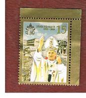 LETTONIA (LATVIA)   - MI 641  -      2005 GIOVANNI PAOLO II  -   USED - Lettonia