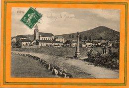 CPA - COLROY-la-GRANDE  (88) - Aspect Du Calvaire à L'entrée Du Bourg Au Début Du Siècle - Colroy La Grande
