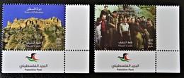 CHATEAU SHQAIF 2018 - NEUFS ** - NOUVEAUTE - COINS DE FEUILLES - Palestine