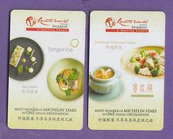 Resorts World Singapore Hotel Keycard (2 Cards) - Hotelkarten