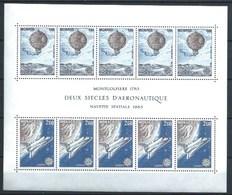 MONACO 1983 YT-25 ** EUROPA. GRANDES OBRAS DEL HOMBRE - Bloques