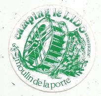 Autocollant , CAMPING LE LIDO , Moulin De La Porte , 46,  LOT ,FIGEAC - Autocollants
