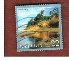 LETTONIA (LATVIA)   - MI 698  -      2007    BALTA KAPA, THE WHITE DUNE-   USED - Lettonia