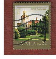LETTONIA (LATVIA)   - MI 704  -      2007   800^ ANNIVERSARY OF SIGULDA       -   USED - Lettonia