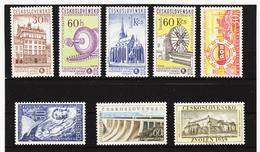 Post215 TSCHECHOSLOWAKEI CSSR 1959 MICHL 1132/38 ** Postfrisch SIEHE ABBILDUNG - Tschechoslowakei/CSSR