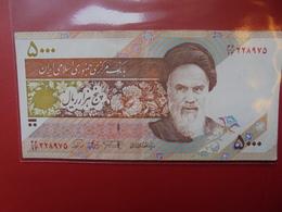 IRAN 5000 RIALS 1993 CIRCULER - Iran
