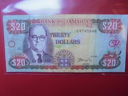 JAMAIQUE 20$ 1999 CIRCULER - Jamaica