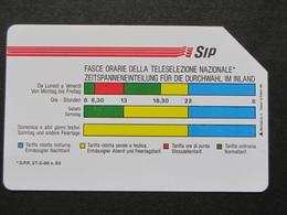 ITALIA 1161 C&C - FASCE ORARIE AA MANTEGAZZA 31.12.92 LIRE 5000 - USATA USED - Italië