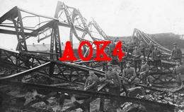 59 Nord QUESNOY SUR DEULE Usine Ruine Gare Armentieres Nordfrankreich Occupation Allemande - France