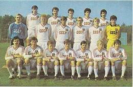 Calendar Of The USSR (Russia - Ukraine) 1989 - Football - The USSR National Team - A Rarity. - Calendars