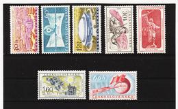 Post218 TSCHECHOSLOWAKEI CSSR 1959 MICHL 1146/52 ** Postfrisch SIEHE ABBILDUNG - Tschechoslowakei/CSSR