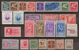 (Fb).Regno.V.E.III.Lotto Di Valori Nuovi (210-18) - Lotti E Collezioni