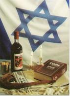 Calendar Russia 1999-2000. Judaism - Religion - The Star Of David - Wine - The Book Of Torah - Candles - A Rarity. - Calendars
