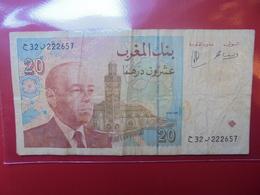 MAROC 20 DIRHAMS 1996 CIRCULER - Morocco